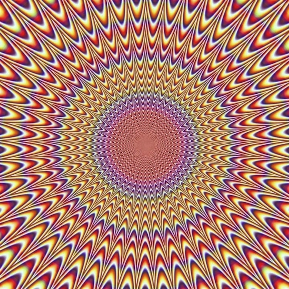 optical illusion moving illusions move eye cool movement tricks eyes animated pink appear mind eyeballs moves don visual con kidding