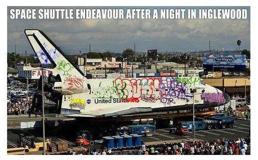 Shuttle Endeavor The Space Shuttle Endeavor